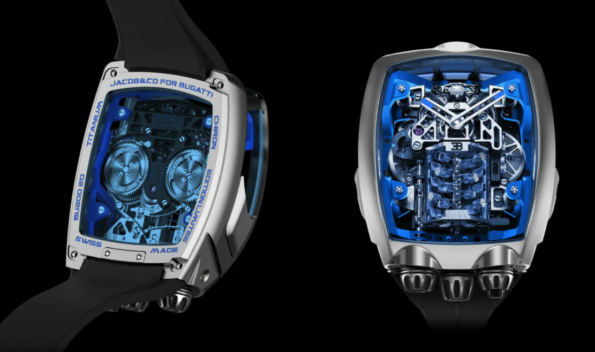Часы Bugatti Chiron 3