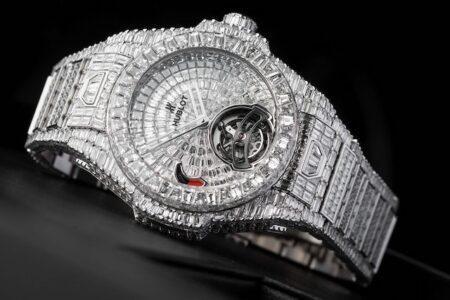 Часы с бриллиантами Шопард