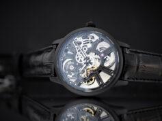 Maurice Lacroix Masterpiece Skeleton Full Black