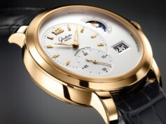 watch gold brand watches hand strap mens dial reliability glashutte