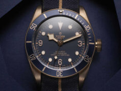 Tudor Black Bay Bronze Blue Bucherer kapak